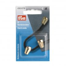 Embouts - Prym - 2 embouts cordons or - 10 mm