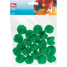 Décoration - Prym - Pompons verts - 30 mm