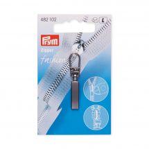 Tirette pour fermeture - Prym - Fashion zipper - métal gris foncé