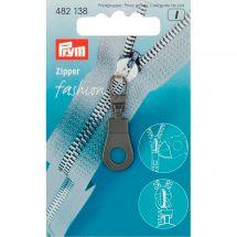 Tirette pour fermeture - Prym - Fashion zipper - oeillet noir