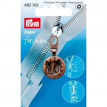 Tirette pour fermeture - Prym - Fashion zipper - blue cuivre