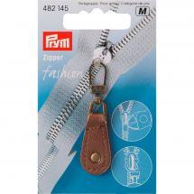 Tirette pour fermeture - Prym - Fashion zipper - cuir