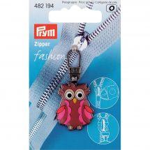 Tirette pour fermeture - Prym - Fashion zipper chouette