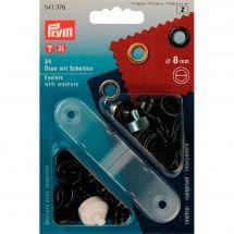 Oeillets et rivets - Prym - 24 oeillets coloris laiton bruni - 11 mm