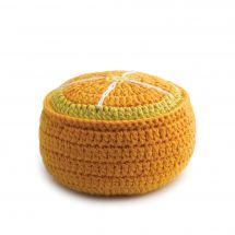 Support aiguilles - Prym - Pelote mousse orange