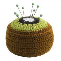 Support aiguilles - Prym - Pelote mousse kiwi