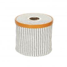 Rangement tricot/crochet - Prym - Distributeur de laine pliable - Bleu / blanc