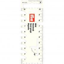 Règle à ourlet - Prym - Règlette rigide mini - 40 x 115 mm