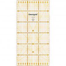 Règle Patchwork - Prym - Règle Omnigrid - 15 x 30 cm