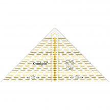 Règle Patchwork - Prym - Triangle Omnigrid  - 17 x 17 x 23 cm