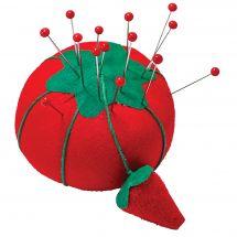 Support aiguilles - Prym - Pelote mousse tomate