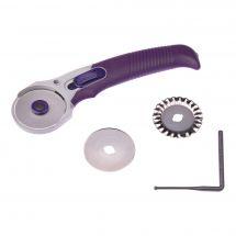 Cutter - Prym - Couteau rotatif avec 3 lames - 45 mm