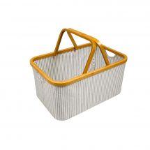 Coffret à ouvrages - Prym - Coffret Canevas et Bambou pliable à rayures