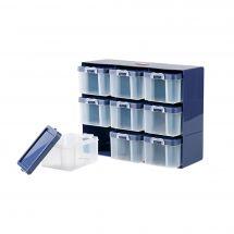 Rangement - Prym - Casier de rangement avec 9 boîtes