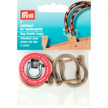 Boucles et clips - Prym - Boucles poignées de sac - 18 mm laiton antique