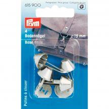 Accessoire pour sac - Prym - 4 patins à clouer pour sacs - 15 mm