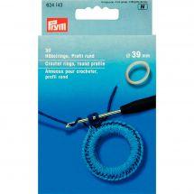 Accessoire crochet - Prym - Anneaux pour crochet - 39 mm