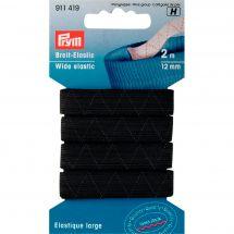 Mercerie - Elastiques - Prym - Elastique standard 12mm noir