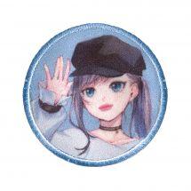 Ecusson thermocollant - Prym - K-Pop Label - Fille bonnet