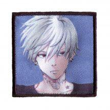 Ecusson thermocollant - Prym - K-Pop Label - Garçon cheveux blancs