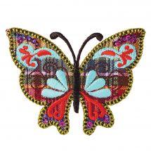 Ecusson thermocollant - Prym - Papillon coloré