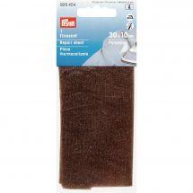 Renforts Thermocollants - Prym - Pièce de réparation thermocollante jersey marron