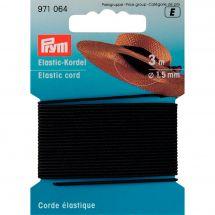 Elastique - Prym - Corde élastique 1,5 mm noire