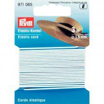 Elastique - Prym - Corde élastique 1,5mm blanche