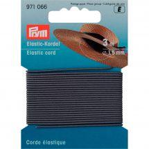 Elastique - Prym - Corde élastique 1,5 mm grise