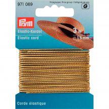 Elastique - Prym - Corde élastique 1,5 mm or