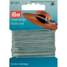 Elastique - Prym - Corde élastique 1,5 mm argent