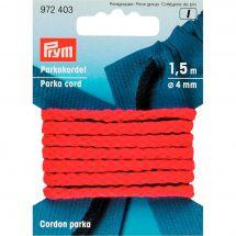 Cordons et Cordelières - Prym - Cordon parka 4mm rouge
