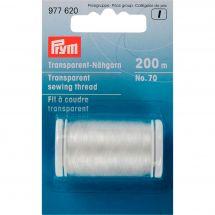 Fil à coudre - Prym - Fil transparent clair n°70 - 200 m