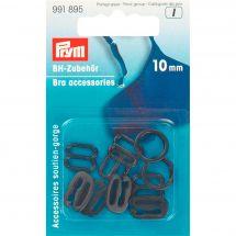 Accessoire lingerie - Prym - Accessoires soutien-gorge - 10 mm noir