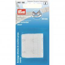 Accessoire lingerie - Prym - Attache soutien-gorge - 40 mm blanc
