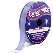 Satin en bobine - Celebrate - Satin violet uni - 9 mm x 6 m