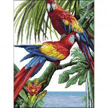 Kit point de croix - Luc Créations - Tropique