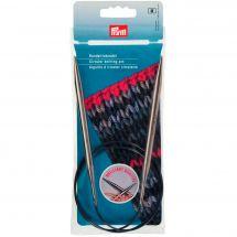 Aiguilles circulaires à tricoter - Prym - Laiton - 80 cm