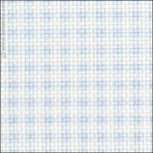 Toile à broder - LMC - Toile Aïda à carreaux bleus 5.5 en coupon ou au mètre