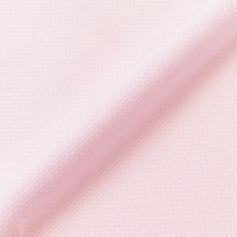 Toile à broder - LMC - Toile Aïda rose irisé 5.5 en coupon ou au mètre