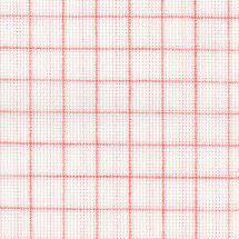 Toile à broder - LMC - Toile Aïda magic guide blanche 7 en coupon ou au mètre