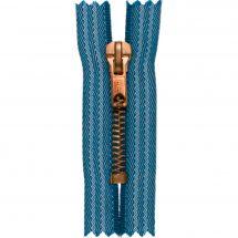 Fermeture non séparable - Prym - Fermeture Eclair ® Jean's/Vieil or - Métallique