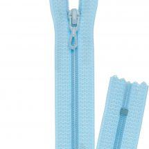 Fermeture non séparable - Prym - Fermeture Eclair ® Bleu azur - Spiralée