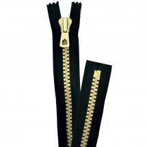 Fermeture non séparable - Prym - Fermeture Eclair ® Noir/Jaune - Injectée