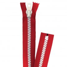 Fermeture non séparable - Prym - Fermeture Eclair ® Rouge/Blanc - Injectée