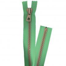 Fermeture non séparable - Premax - Fermeture Eclair ® Vert/Beige - Injectée
