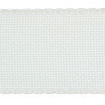 Galon à broder au 50 cm - Zweigart - Galon Aïda blanche 5 Zweigart Band au 50 cm