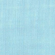 Toile à broder - LMC - Toile lin 12 fils ciel azur en coupon ou au mètre