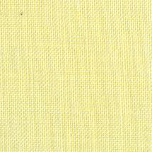Toile à broder - LMC - Toile lin 12 fils jaune paille en coupon ou au mètre