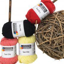 Coton à tricoter - Schachenmayr - Sun city